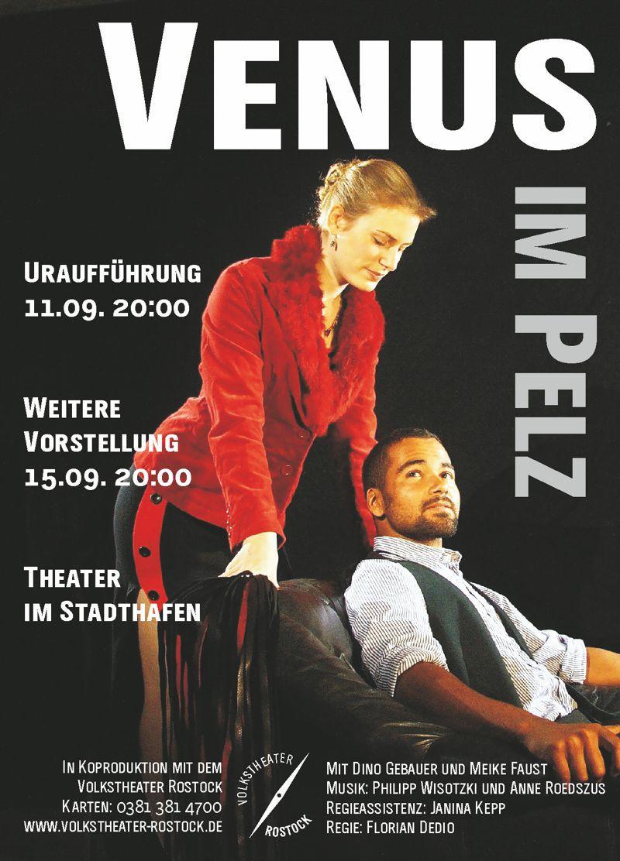 Venus im Pelz - Flyer (c) Florian Dedio