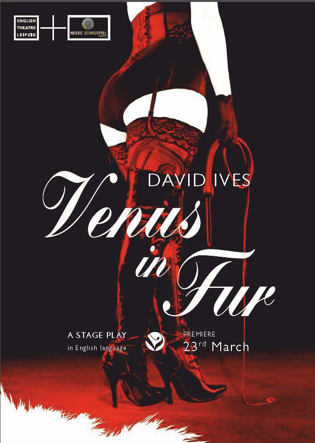 Venus in Fur - Flyer (c) Katja Hillscher & ETL