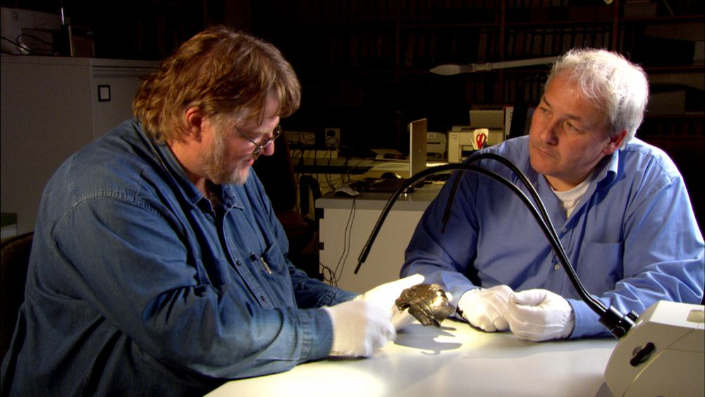 Die Schlacht am Harzhorn - Prof. Günther Moosbauer & Dr. Henning Hassmann (c) LOOKSfilm