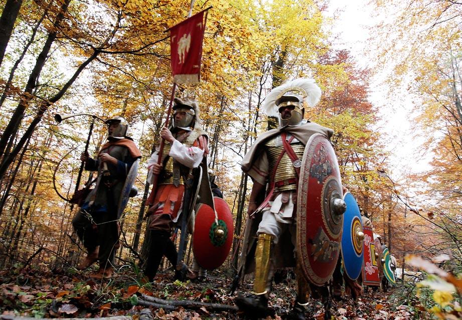 Die Schlacht am Harzhorn - Römische Legion (c) LOOKSfilm