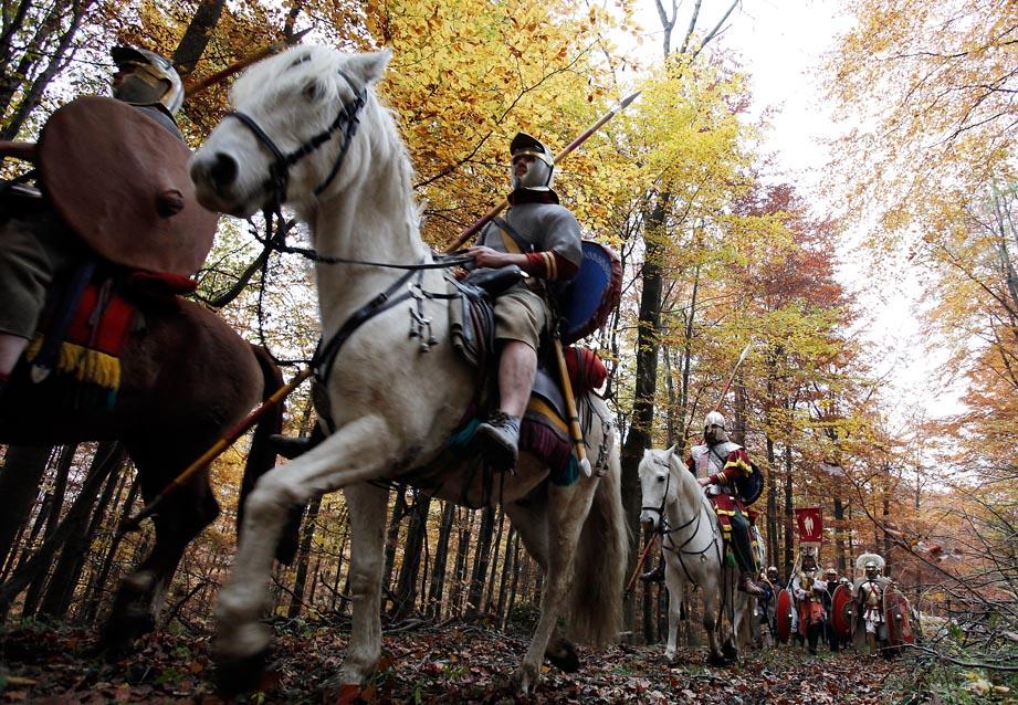 Die Schlacht am Harzhorn - Römische Reiterei (c) LOOKSfilm