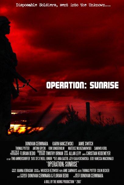 Operation Sunrise - Poster (c) BBHP & Florian Dedio