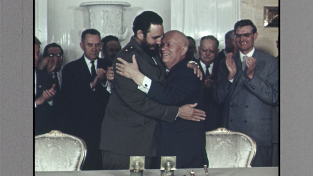 The Cuba Libre Story - Fidel Castro and Nikita Khrushchev (c) LOOKSfilm