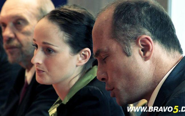 Bravo 5 Inka Jankowski als Katja Pilgrim & Ulf Lehner als Bernd Hufnagel (c) Florian Dedio & BBHP