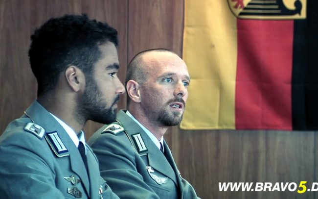 Bravo 5 Dino Gebauer als Michael Cleve & Florian Dedio als Richard Krohn (c) Florian Dedio & BBHP