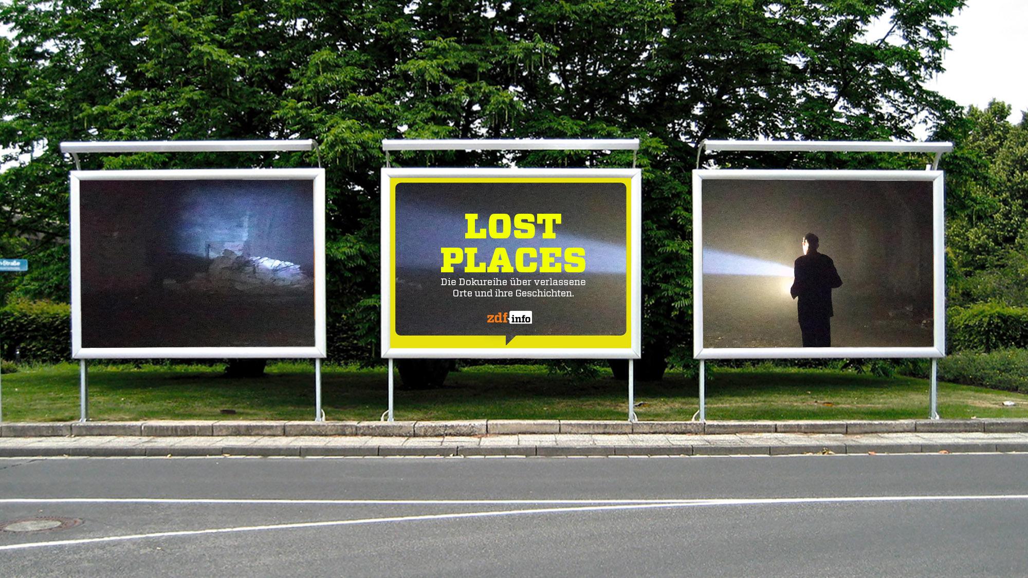 Lost Places – Geheime Welten - Billboard